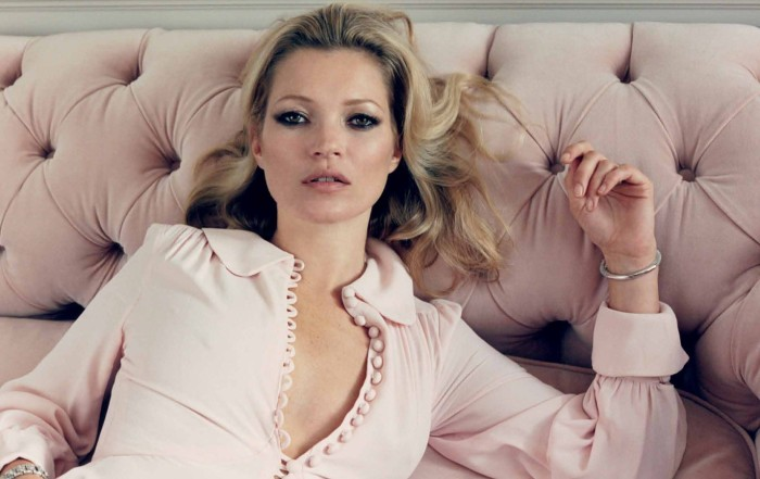 kate moss4 Kate Moss Poses for Venetia Scott in Centrefolds F/W 2012 Cover Shoot