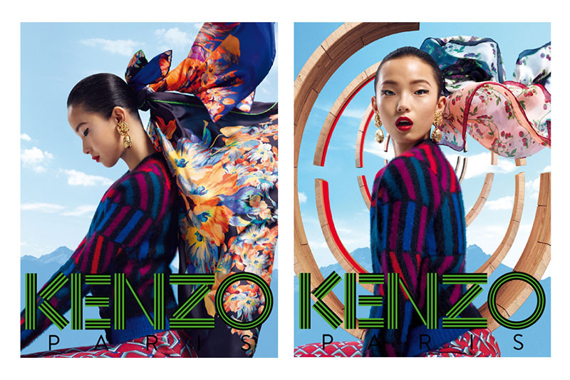 kenzo1 Xiao Wen Stars in Kenzo Accessories Fall/Winter 2012 Campaign by Frederik Heyman