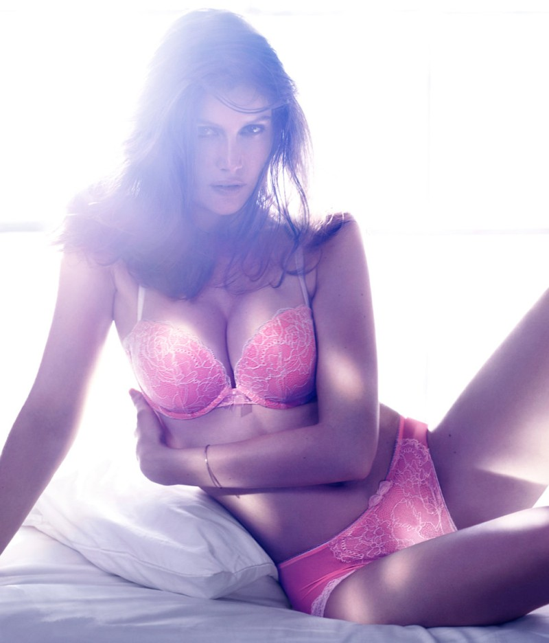 laetitia hm2 Laetitia Casta Seduces in the H&M F/W 2012 Lingerie Campaign
