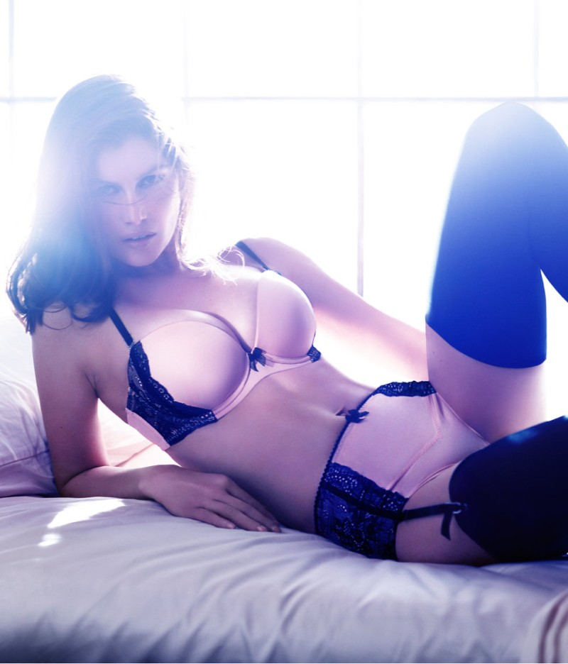 laetitia hm3 Laetitia Casta Seduces in the H&M F/W 2012 Lingerie Campaign