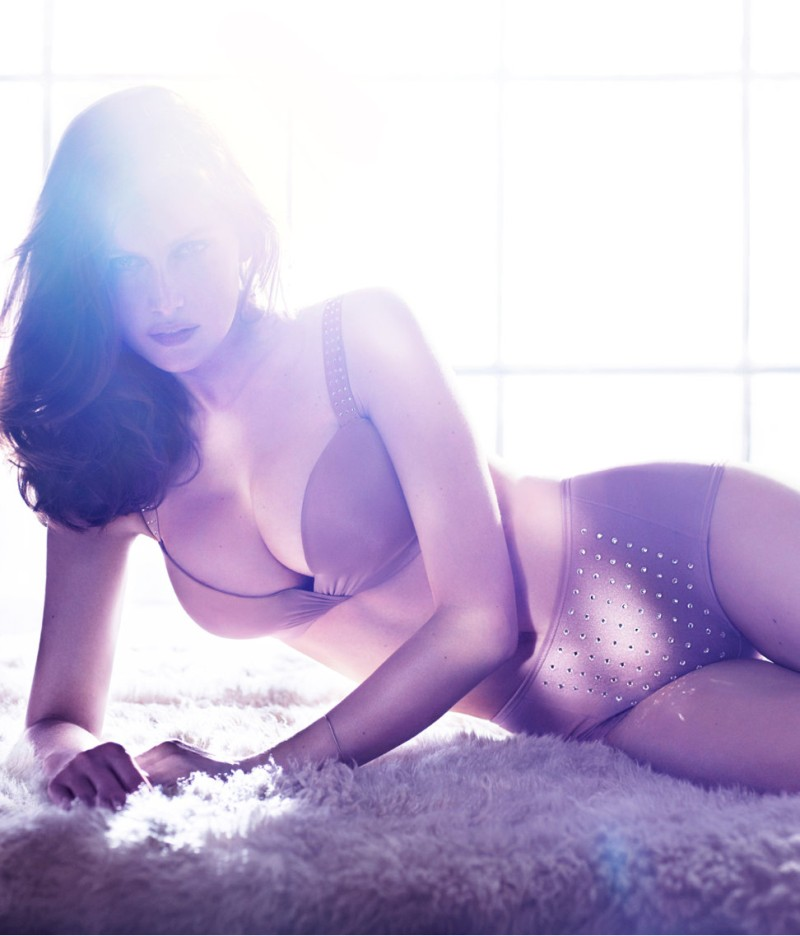 laetitia hm5 Laetitia Casta Seduces in the H&M F/W 2012 Lingerie Campaign