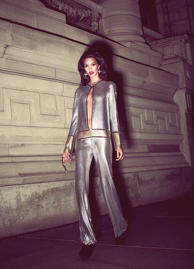 lais7 Lais Ribeiro Takes the Mask for Twelv Magazine #2 by Rony Shram