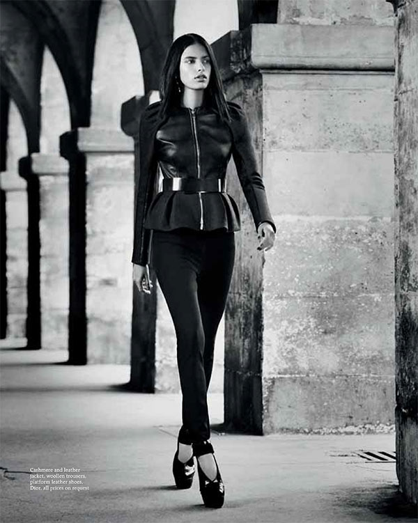 lakshmi menon3 Lakshmi Menon Takes on Paris in Dior for Grazia Indias October 2012 Cover Shoot