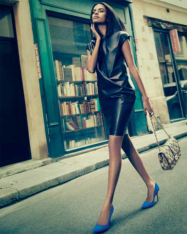 lakshmi menon7 Lakshmi Menon Takes on Paris in Dior for Grazia Indias October 2012 Cover Shoot