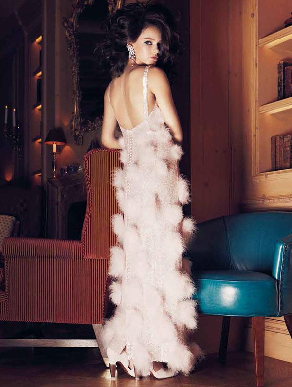 Laura Neiva Stars in the November 2012 Cover Story of L'Officiel Brazil
