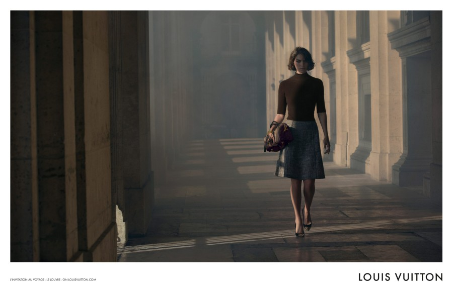 louis vuitton3 Arizona Muse Takes Flight for Louis Vuittons L'invitation au Voyage Campaign by Inez & Vinoodh