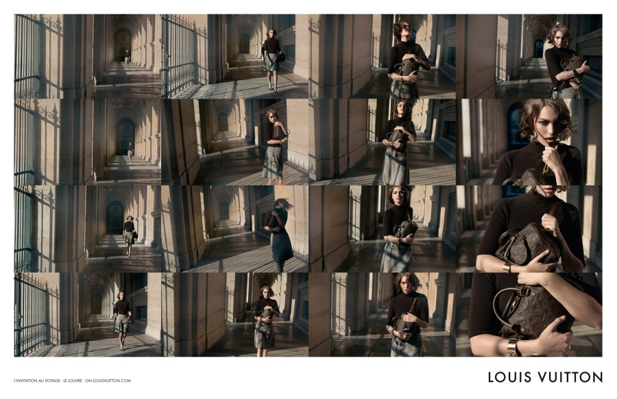 louis vuitton4 Arizona Muse Takes Flight for Louis Vuittons L'invitation au Voyage Campaign by Inez & Vinoodh