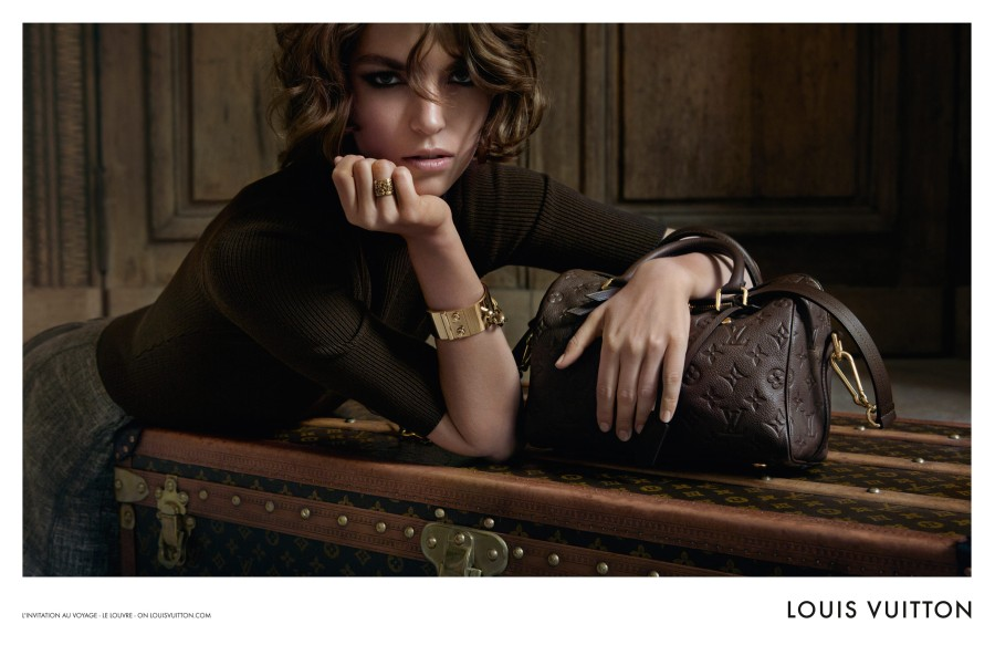 louis vuitton5 Arizona Muse Takes Flight for Louis Vuittons L'invitation au Voyage Campaign by Inez & Vinoodh
