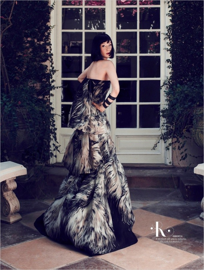 Lucy Liu Sports Modern Elegance for More Magazine, Lensed by Emre Guven