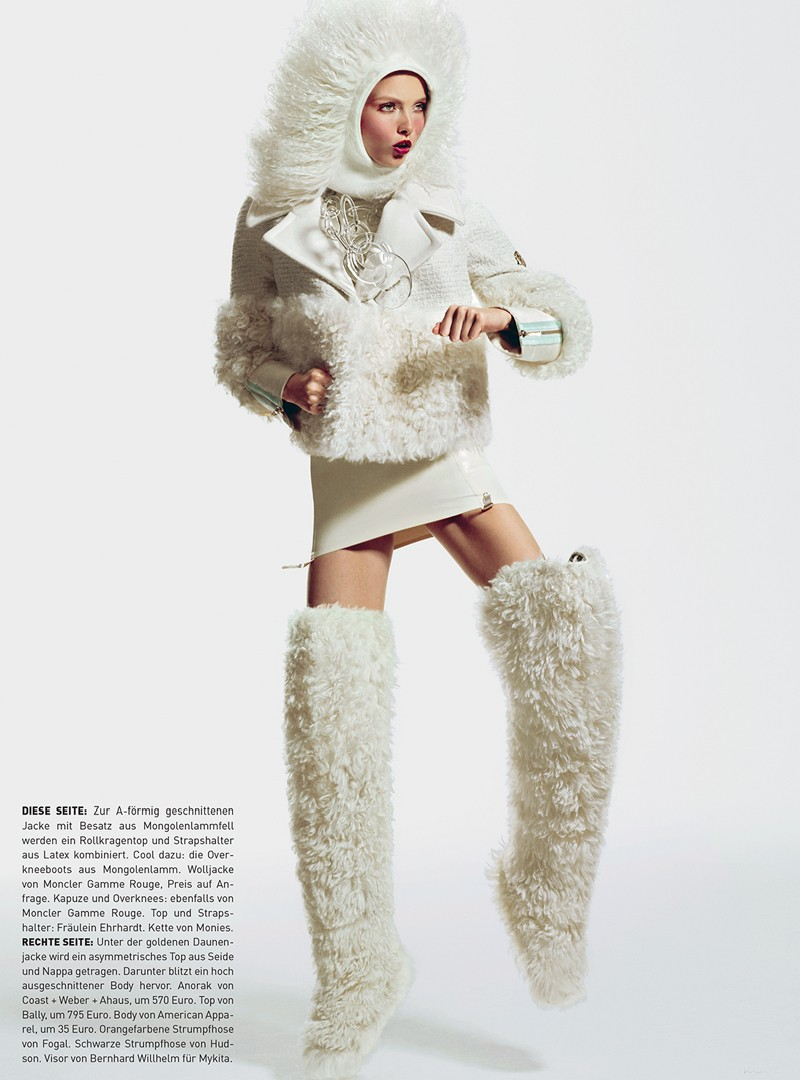 madame7 Kristy Kaurova is Sporty Chic for Kevin Sinclairs Madame Germany Shoot