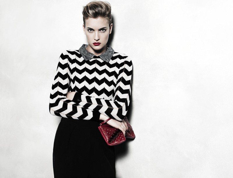 mango11 Mango Taps Ophelie Rupp for its November 2012 Lookbook