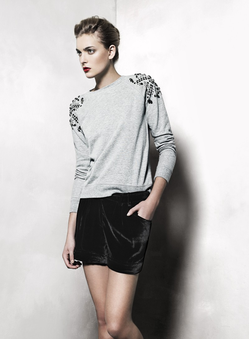 mango12 Mango Taps Ophelie Rupp for its November 2012 Lookbook