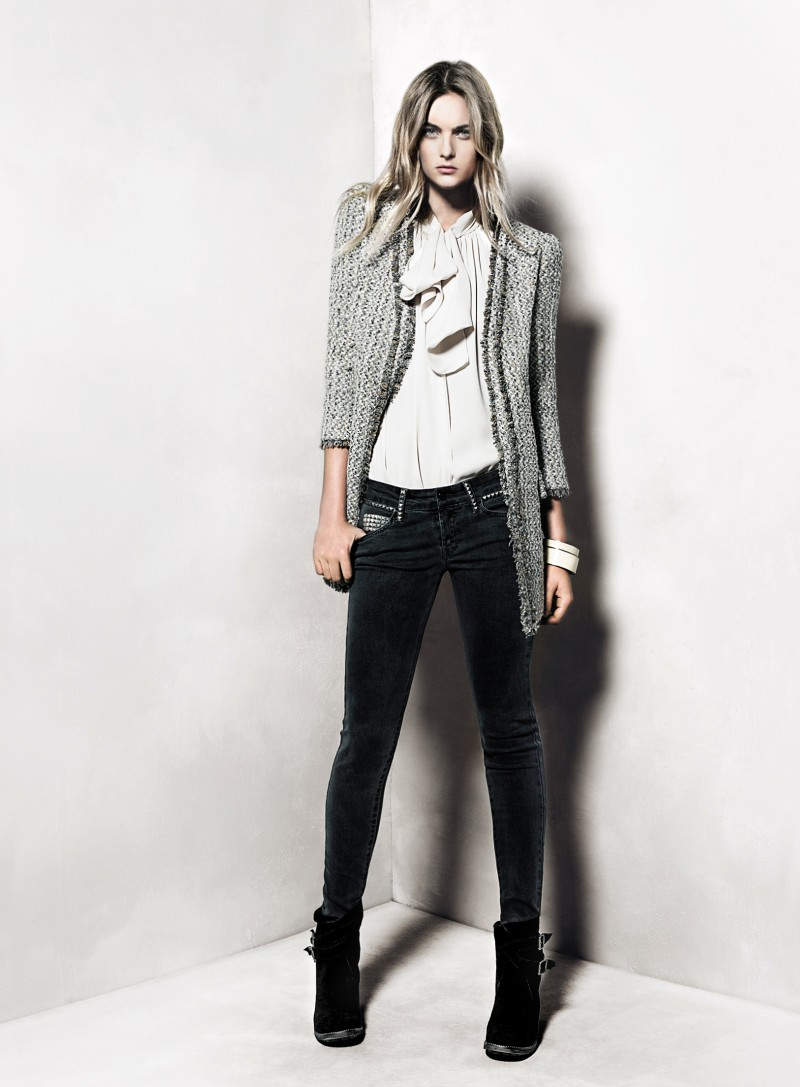 mango20 Mango Taps Ophelie Rupp for its November 2012 Lookbook