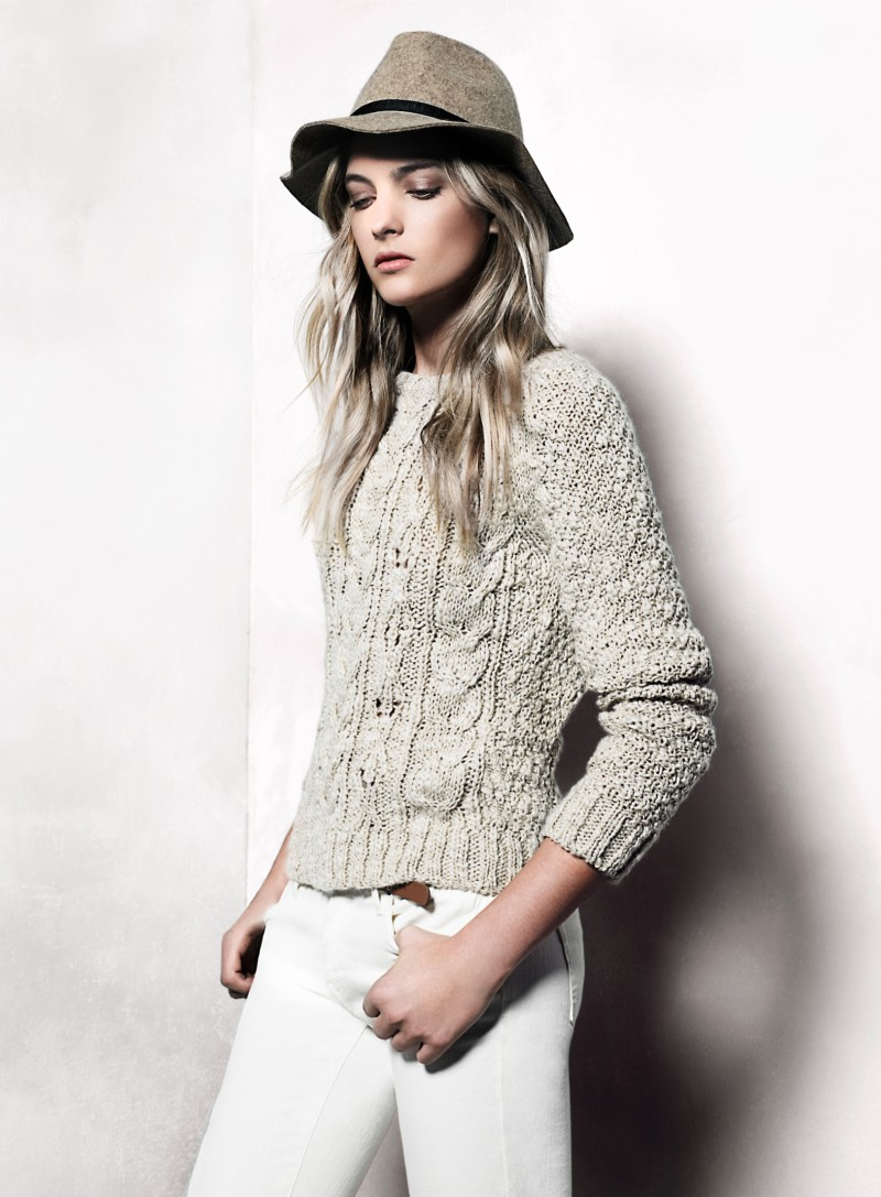 mango22 Mango Taps Ophelie Rupp for its November 2012 Lookbook