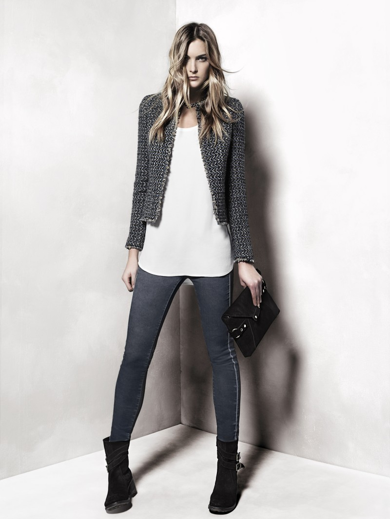 mango3 Mango Taps Ophelie Rupp for its November 2012 Lookbook