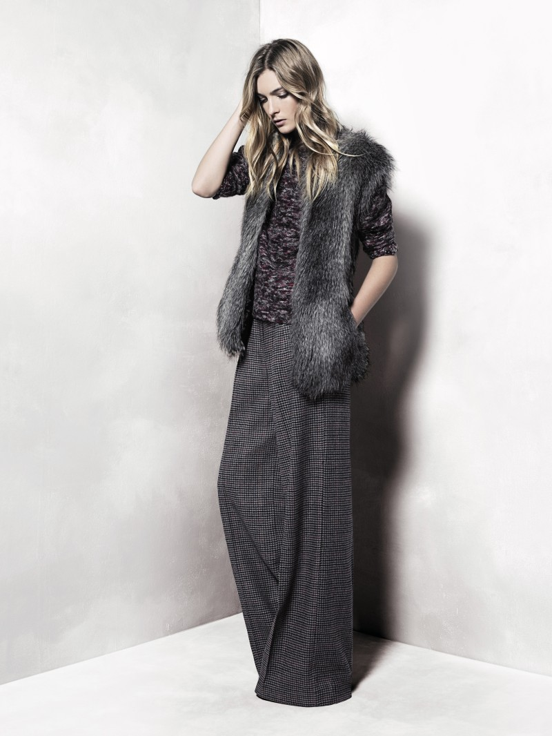 mango7 Mango Taps Ophelie Rupp for its November 2012 Lookbook