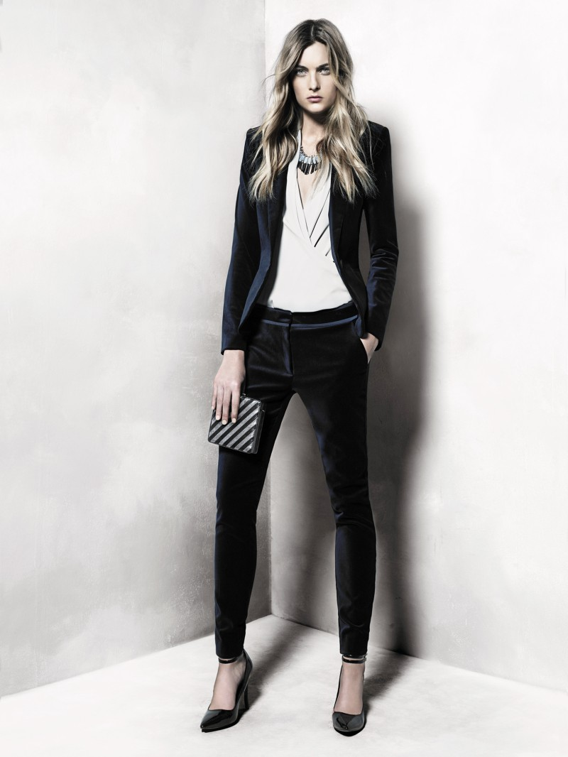 mango9 Mango Taps Ophelie Rupp for its November 2012 Lookbook