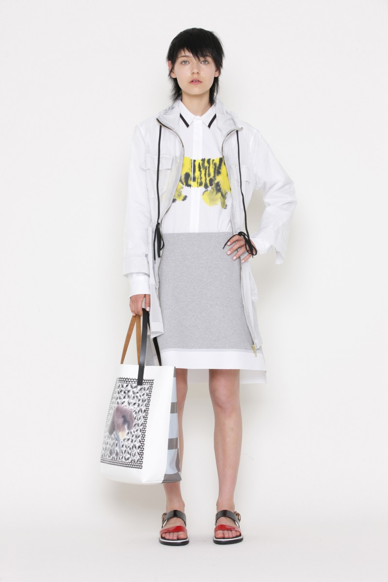 "Kolfinna Kristófersdóttir Models the Marni ""Saturday Morning"" Summer 2013 Collection"