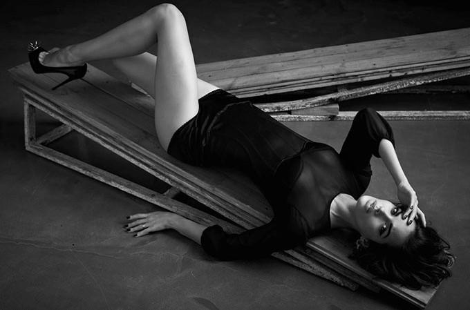 Michella Cruz Seduces in GQ Russia's December Issue