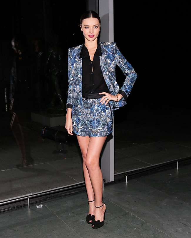 miranda foot Miranda Kerr in Tabitha Simmons at the 2012 Footwear News Achievement Awards