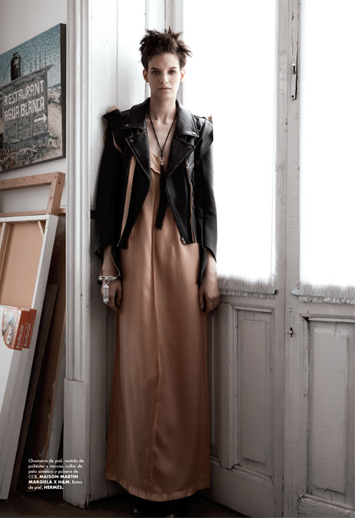 mmm4 Santiago Ruiseñor  Lenses Maison Martin Margiela x H&M for Elle Mexico December 2012