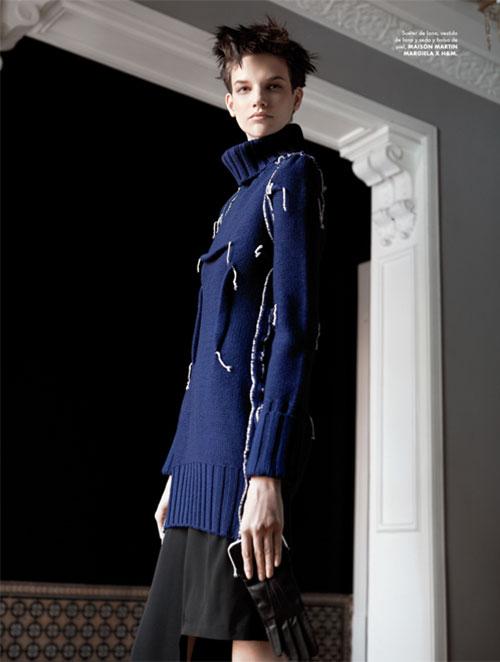 mmm5 Santiago Ruiseñor  Lenses Maison Martin Margiela x H&M for Elle Mexico December 2012