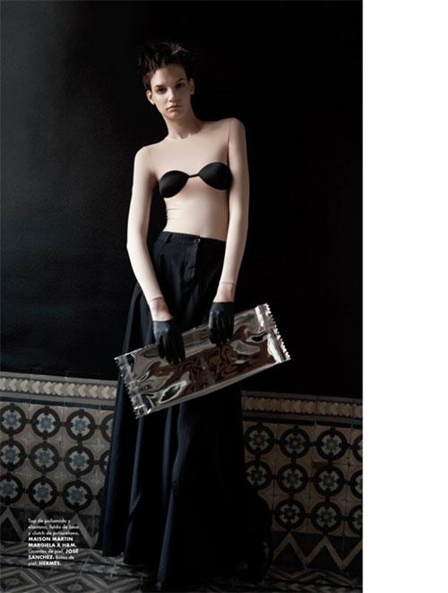 mmm9 Santiago Ruiseñor  Lenses Maison Martin Margiela x H&M for Elle Mexico December 2012