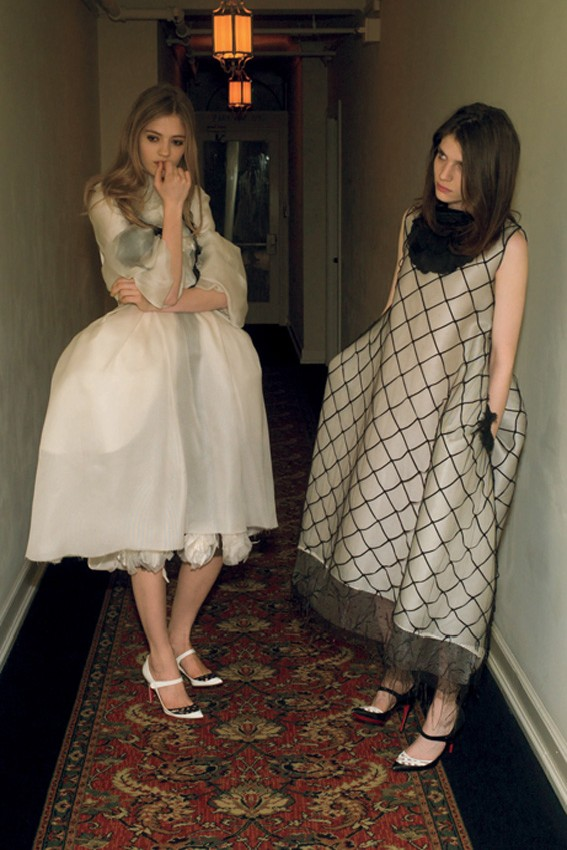 nan goldin10 Nan Goldin Captures the Archives of Rodarte for Grey Magazine F/W 2012
