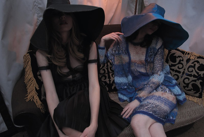 nan goldin14 Nan Goldin Captures the Archives of Rodarte for Grey Magazine F/W 2012