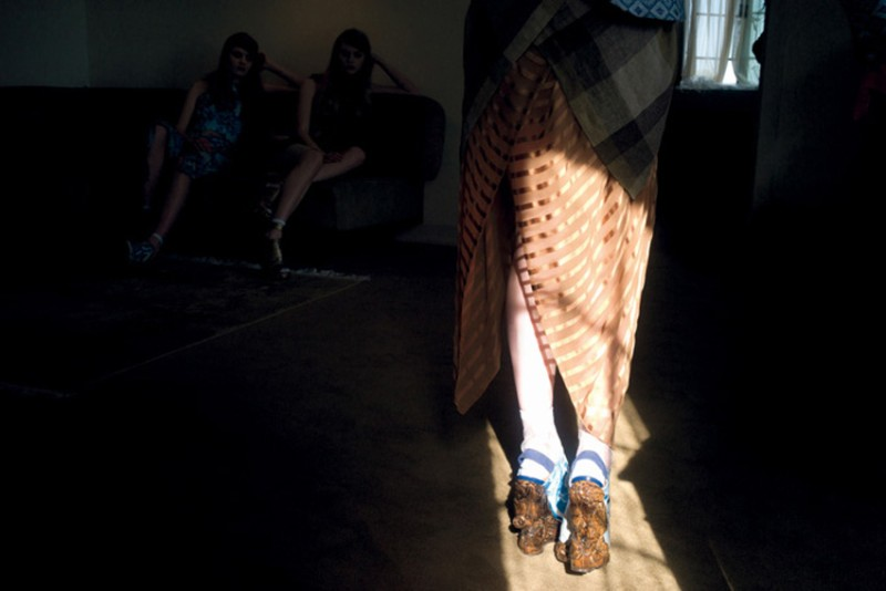 nan goldin2 Nan Goldin Captures the Archives of Rodarte for Grey Magazine F/W 2012