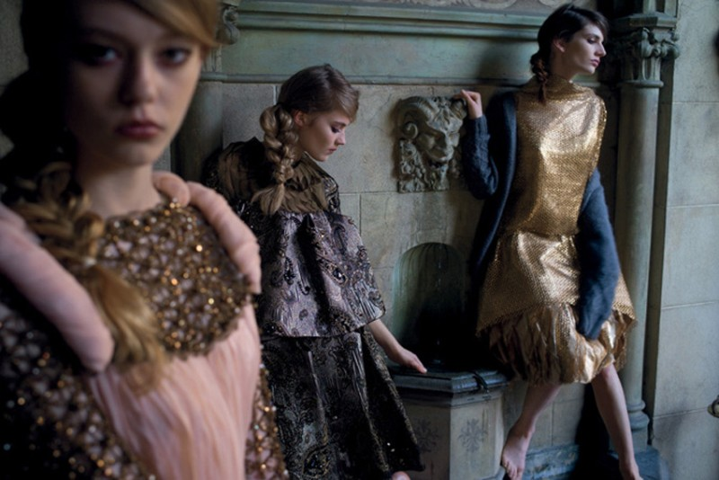 nan goldin7 Nan Goldin Captures the Archives of Rodarte for Grey Magazine F/W 2012