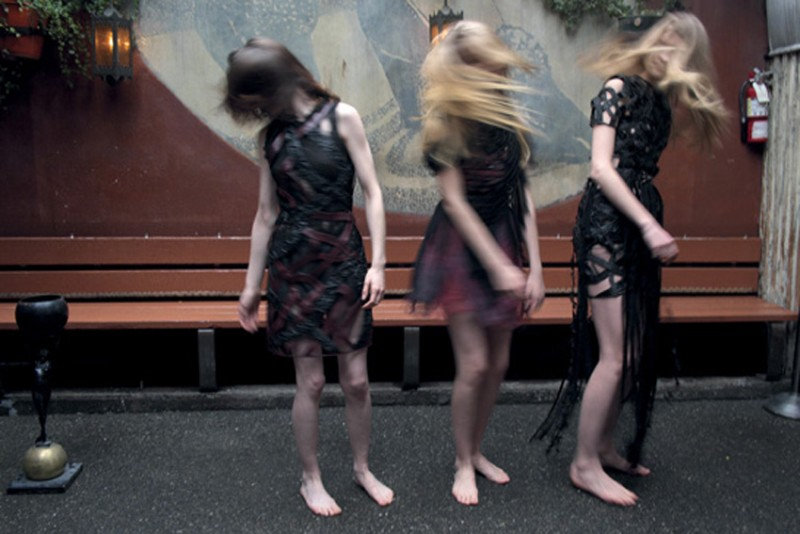 nan goldin8 Nan Goldin Captures the Archives of Rodarte for Grey Magazine F/W 2012