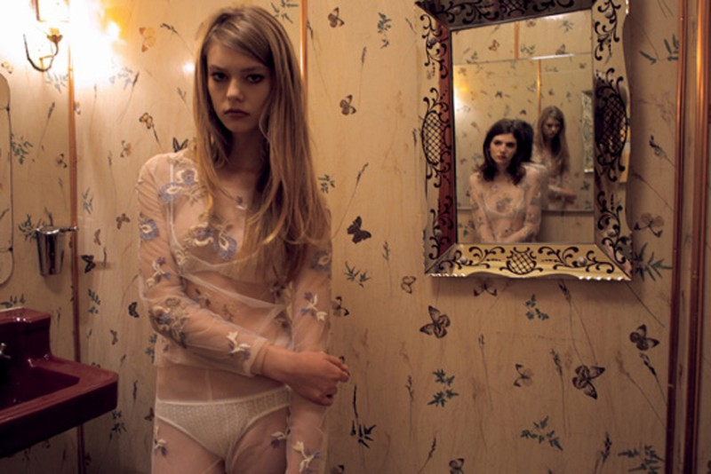 nan goldin9 Nan Goldin Captures the Archives of Rodarte for Grey Magazine F/W 2012