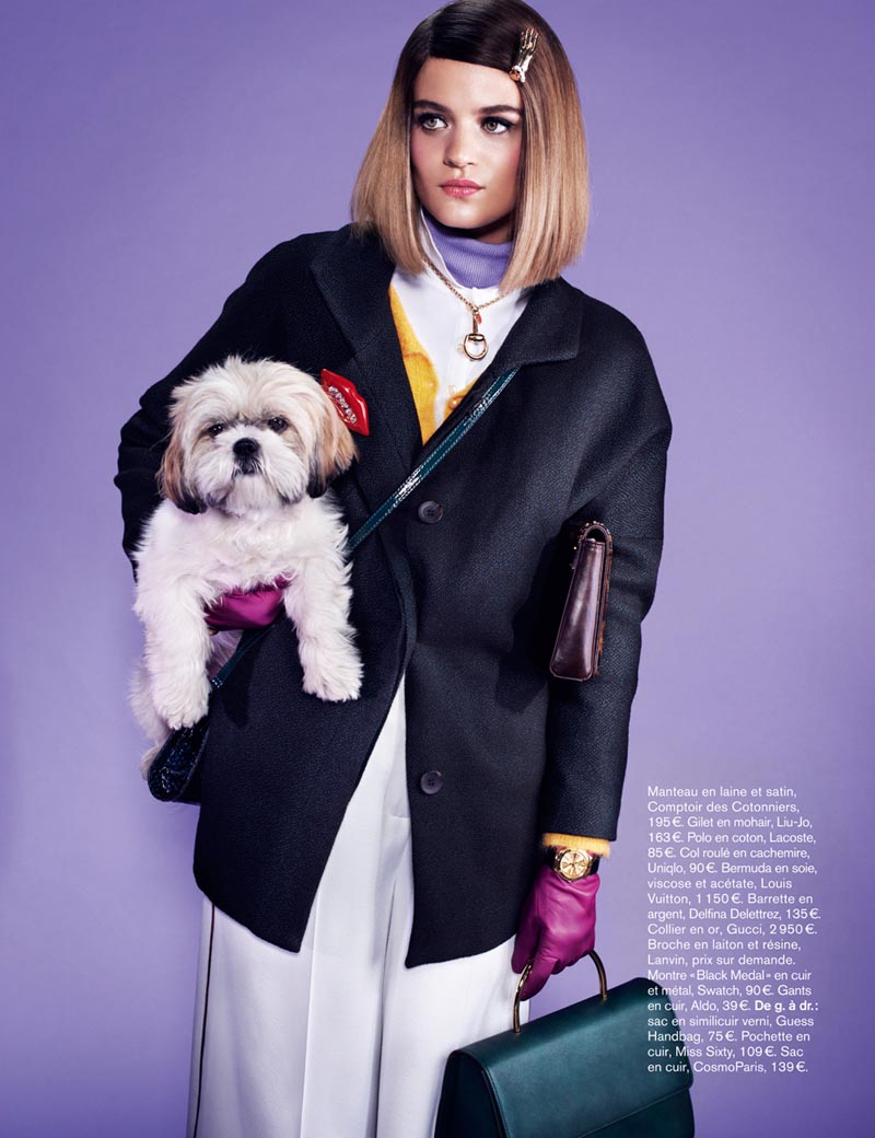 naomi glamour9 Rintje van Witjck is First Class for Naomi Yangs Glamour France Shoot