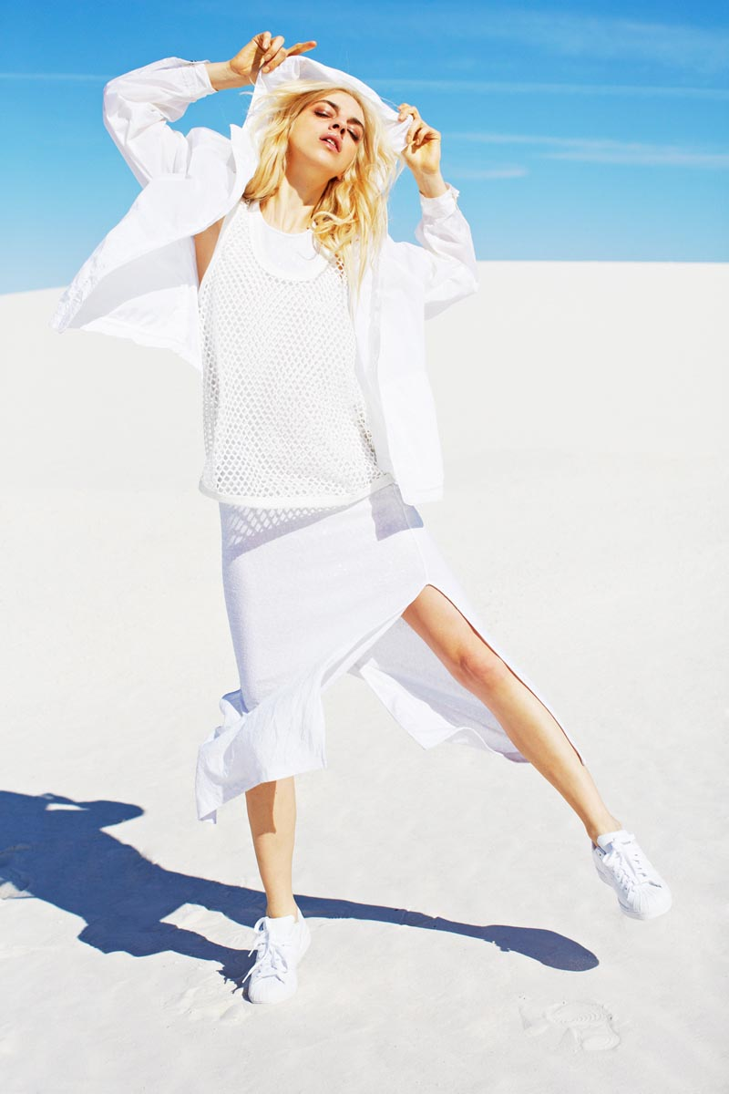 Naomi Preizler Models Sporty Style for Nasty Gal's November 2012 Lookbook
