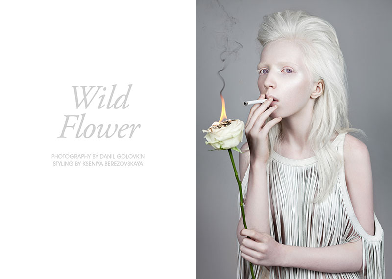 nastya Nastya Zhidkova by Danil Golovkin in Wild Flower for Fashion Gone Rogue
