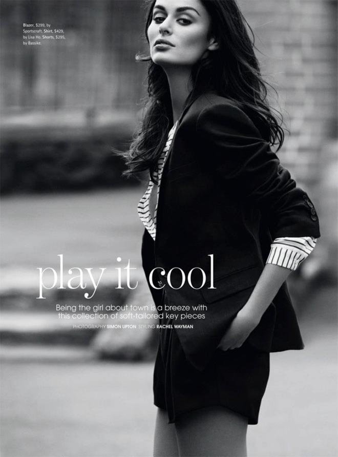nicole trunfio1 Nicole Trunfio Sports Relaxed Style for Madison Magazine by SImon Upton