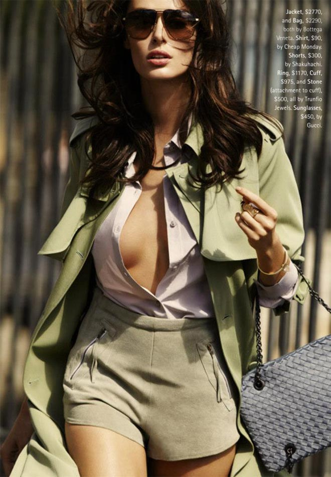 nicole trunfio5 Nicole Trunfio Sports Relaxed Style for Madison Magazine by SImon Upton