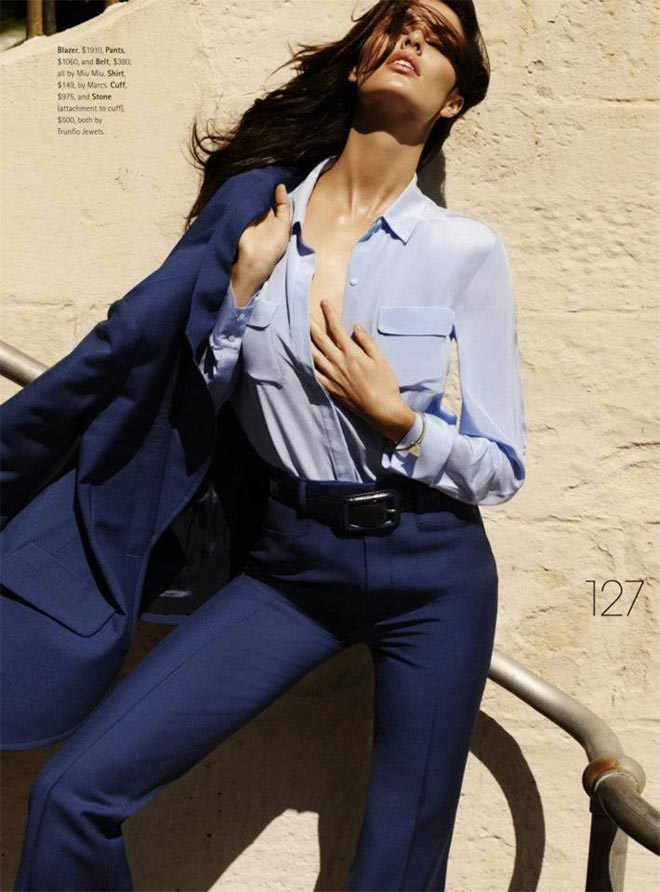 nicole trunfio7 Nicole Trunfio Sports Relaxed Style for Madison Magazine by SImon Upton