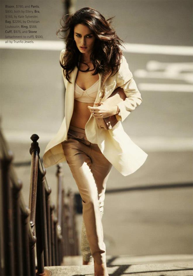 nicole trunfio8 Nicole Trunfio Sports Relaxed Style for Madison Magazine by SImon Upton