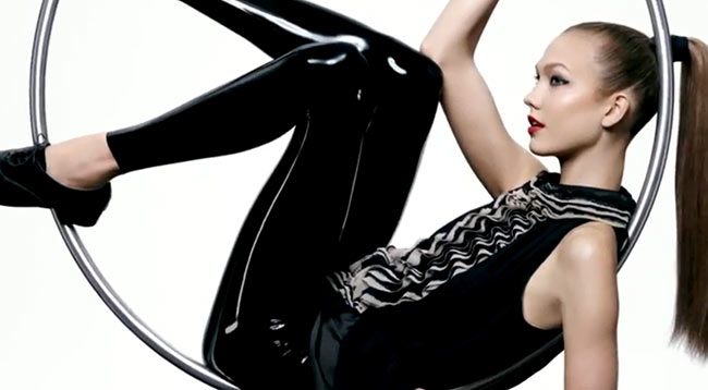 nm2 Karlie Kloss Stars in Neiman Marcus + Targets Holiday 2012 Collection Film