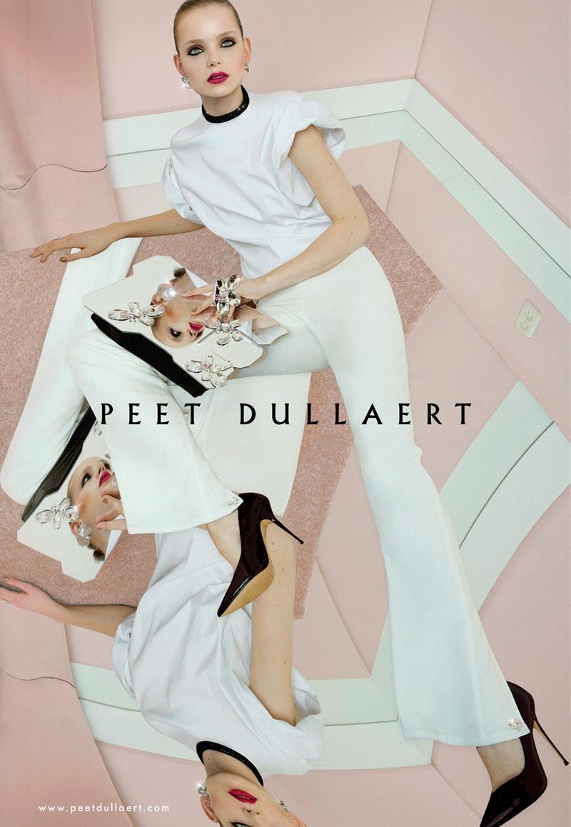 peet2 Svea Kloosterhof Stars in Peet Dullaerts Spring 2013 Campaign by Meinke Klein