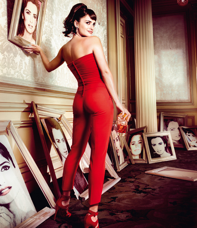 penelope cruz10 Penelope Cruz is Red Hot in the 2013 Campari Calendar