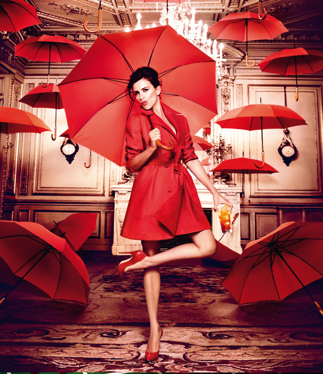 penelope cruz3 Penelope Cruz is Red Hot in the 2013 Campari Calendar