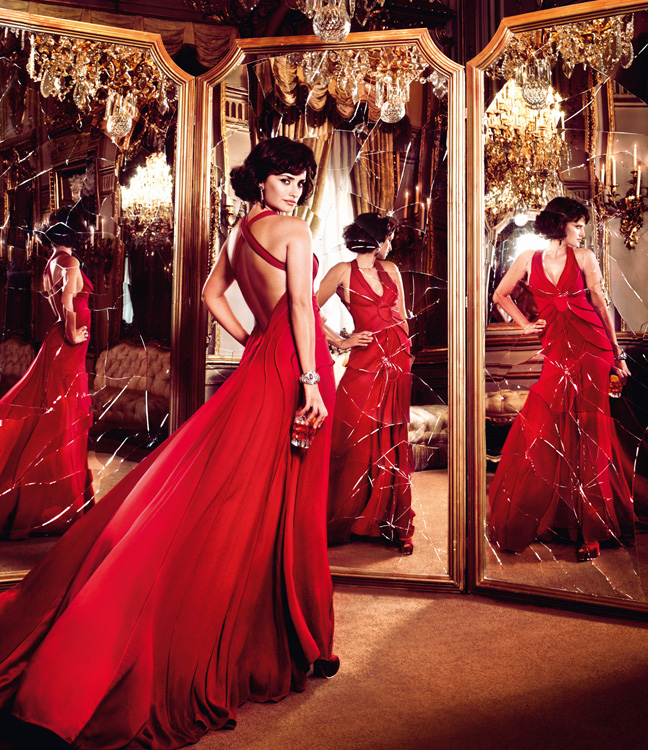 penelope cruz4 Penelope Cruz is Red Hot in the 2013 Campari Calendar