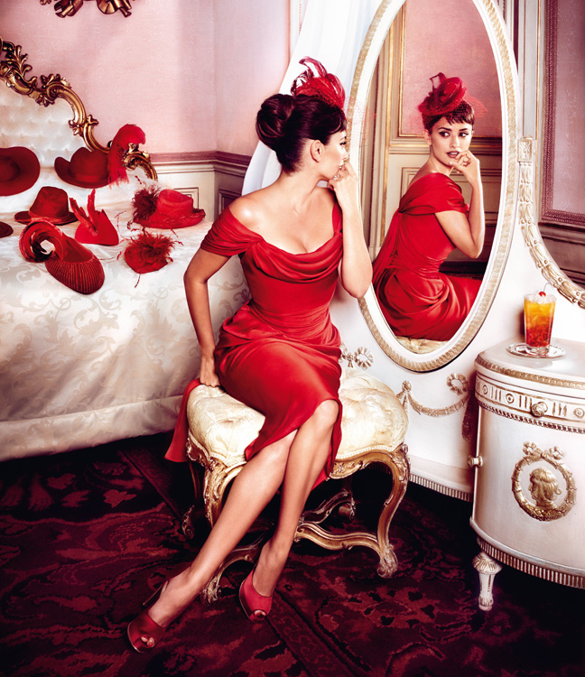 penelope cruz6 Penelope Cruz is Red Hot in the 2013 Campari Calendar