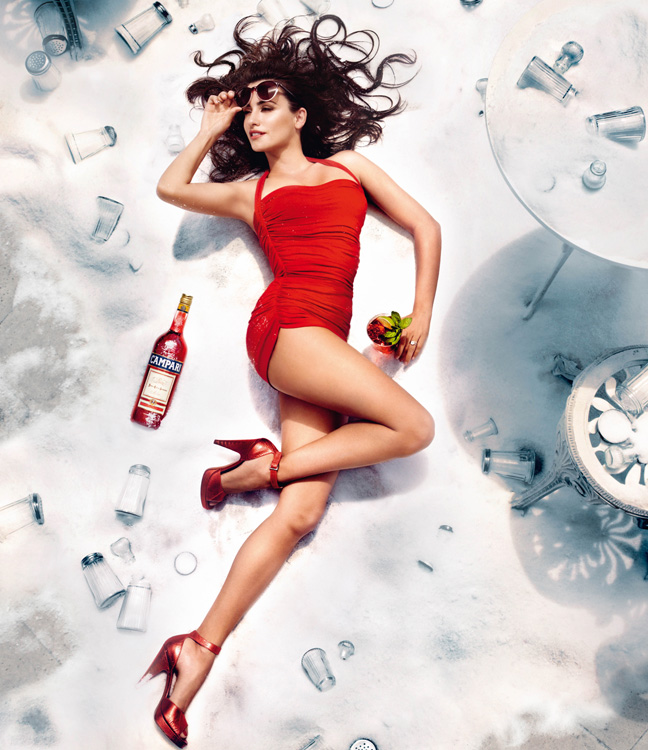 penelope cruz8 Penelope Cruz is Red Hot in the 2013 Campari Calendar