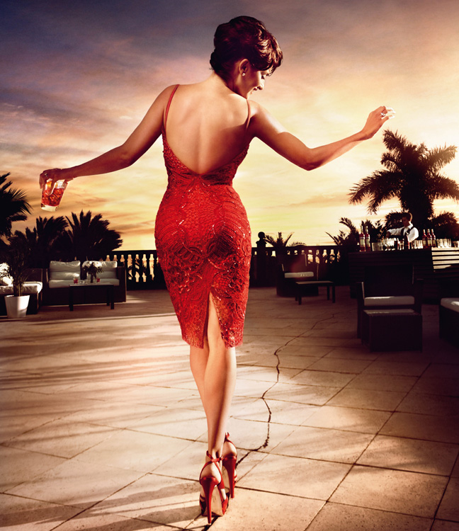 penelope cruz9 Penelope Cruz is Red Hot in the 2013 Campari Calendar
