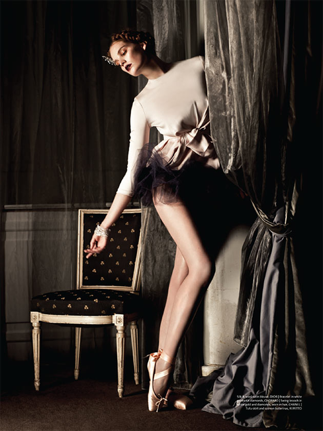 pointe5 Alexina Graham is On Pointe for Sy Delorme in Mojeh Magazine