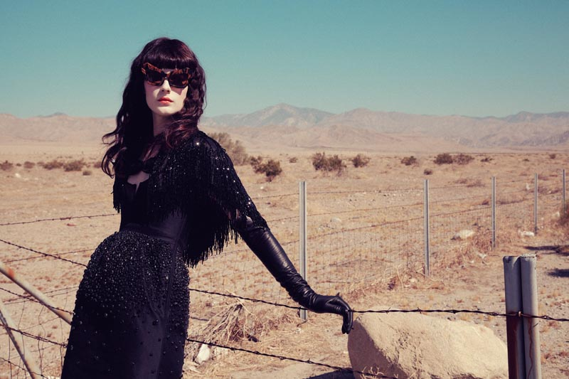 querelle jansen1 Querelle Jansen Takes a Road Trip for Numéro #138 by Sofia and Mauro